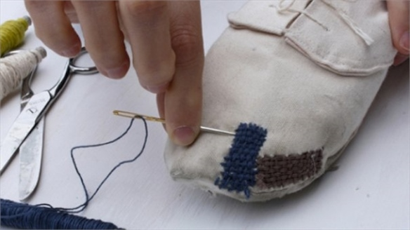Repair Your Own Canvas Shoes