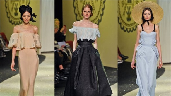 Spring 2013 Couture: Sergeenko's American Dream