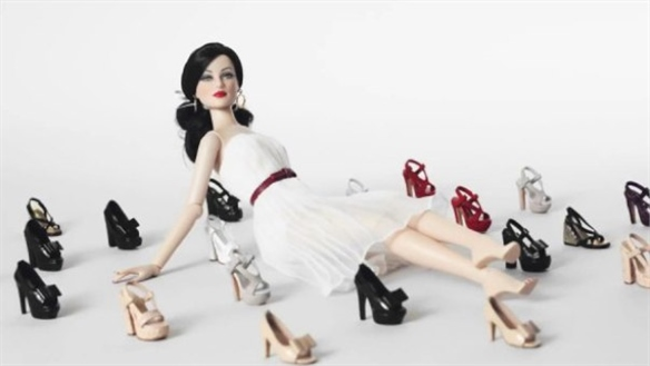 Louis Vuitton's Doll Shoes