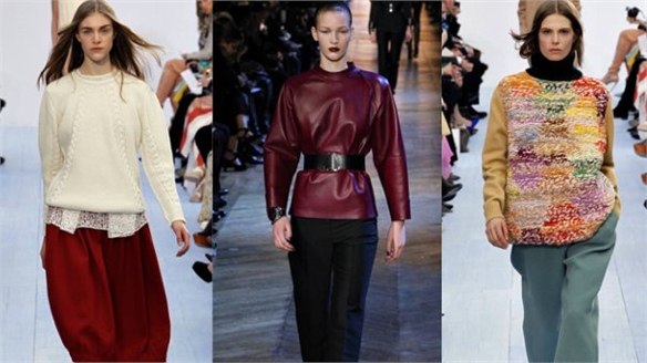 PFW A/W 12-13: Old vs New