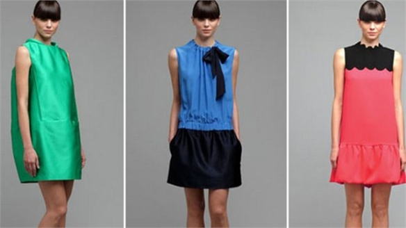 Victoria Beckham Launches Diffusion Dress Line