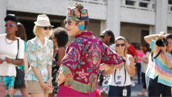NYFW: Advanced Style Fashion Mob