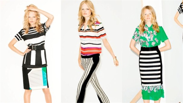 NYFW S/S 2012: Brights and Stripes at 10 Crosby Derek Lam