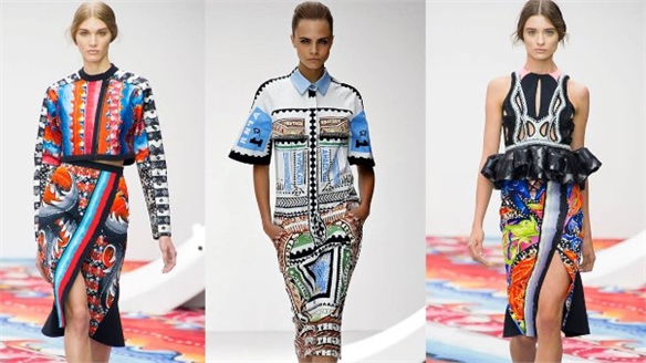 London Fashion Week: Masters of Print