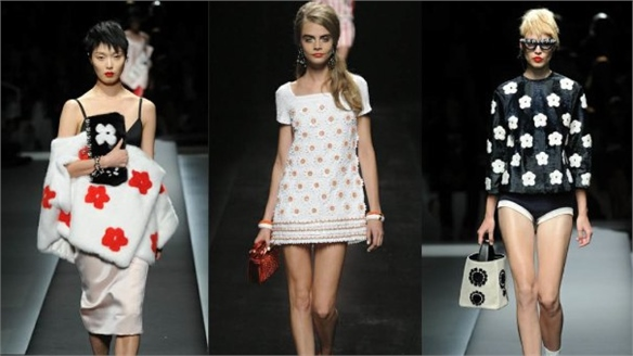 Milan Fashion Week: Sixties Daisy Chains