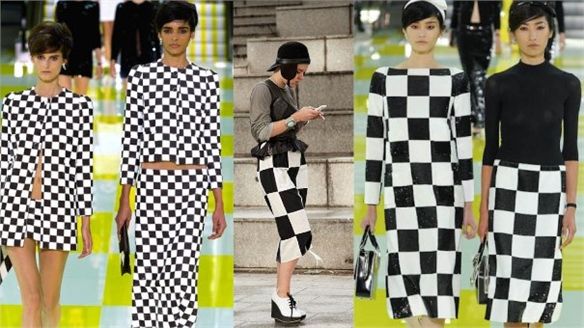 PFW S/S 13: Sixties Style at Louis Vuitton