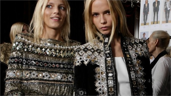 Balmain Banks on Mid-Priced Line