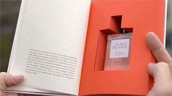 Wallpaper* Magazine's Paper Passion Fragrance