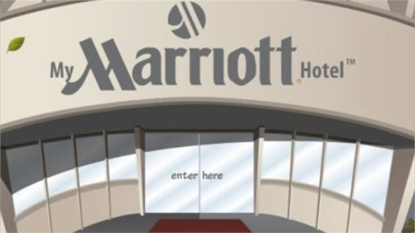 Marriott Facebook Game