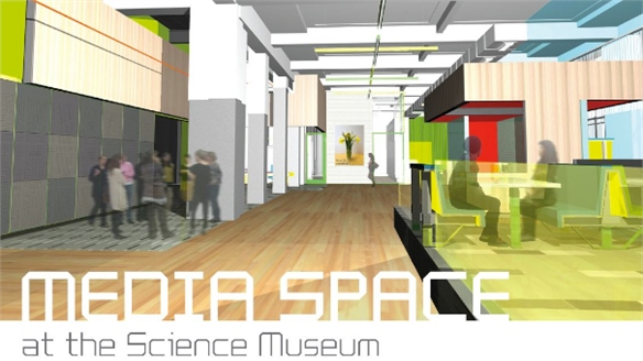 Science Museum's New Media Space