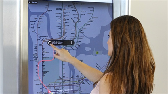 NYC to Install Touchscreen Kiosks in Subway