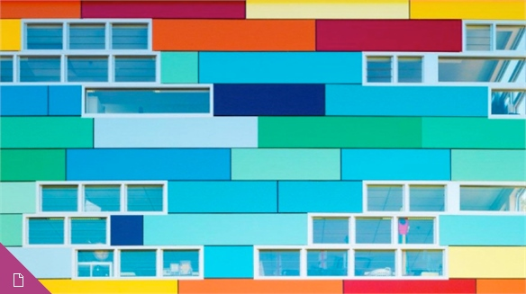 Kindergarten Colour: Architecture for Education