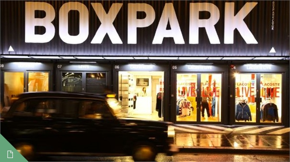 Boxpark: London's Pop-Up Mall