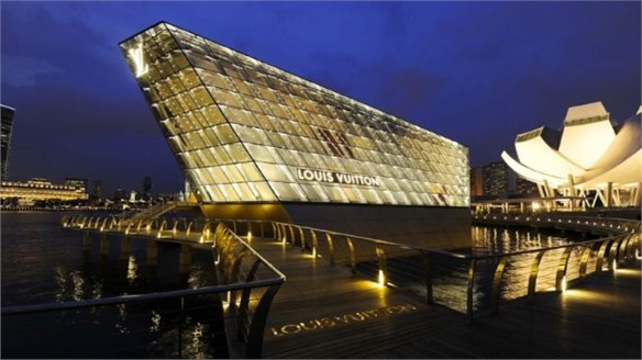 Louis Vuitton's Island Store