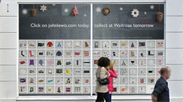 John Lewis' First Virtual QR Store