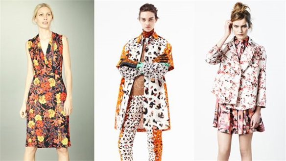 Pre-Fall 2012: Mismatched Prints