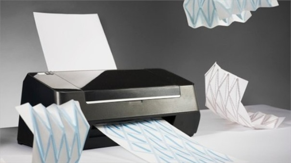 Milan: Hydro-Fold Ink-jet Printer