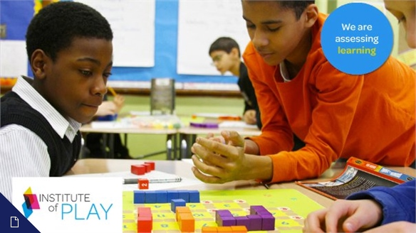Rethinking the Way We Learn: The Institute of Play