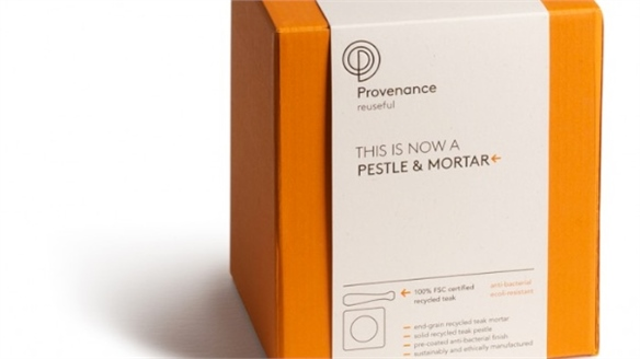 Provenance's Narrative Packaging Concept