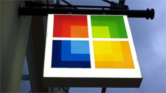 Microsoft's Debut UK Store