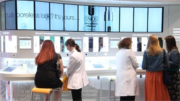 Clinique Experience Bar Opens at Bloomingdale's