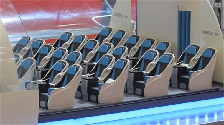Aircraft interiors expo stylus innovation research for Aircraft interior designs