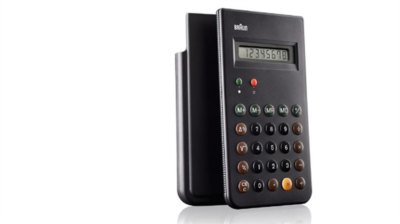 Braun Calculator Relaunched