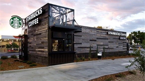 Starbucks' New Eco-Local Drive Thru