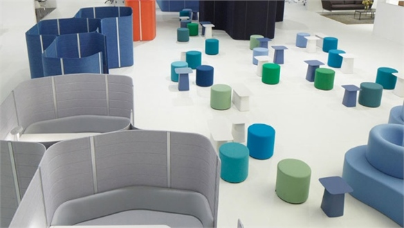 Transformable Workbays by Vitra