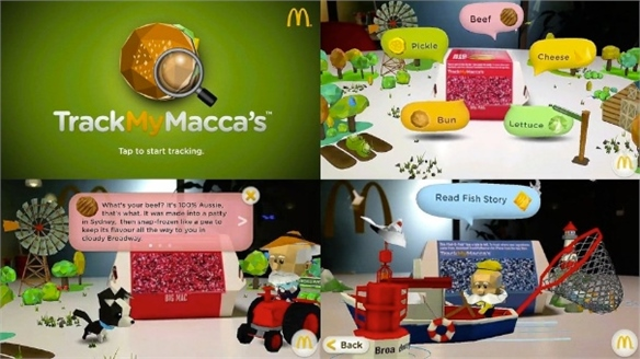 McDonald's Introduces TrackMyMacca's