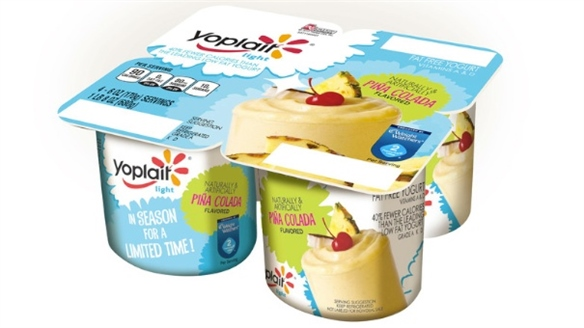 Yoplait's Cocktail-Flavoured Yoghurts