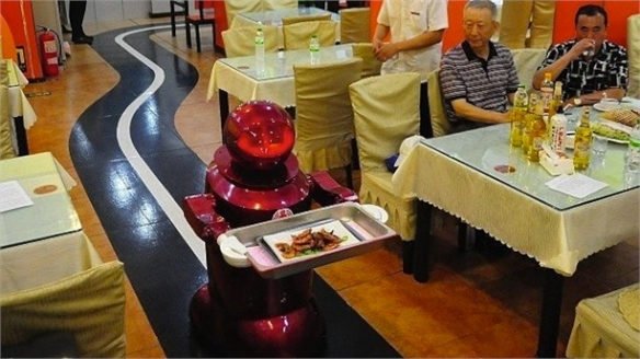 Restaurant Staffed by Robots