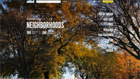 Airbnb's Neighbourhood Guides