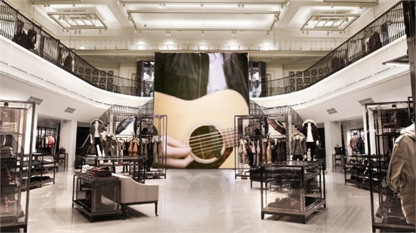 Burberry's High-Tech Flagship, London