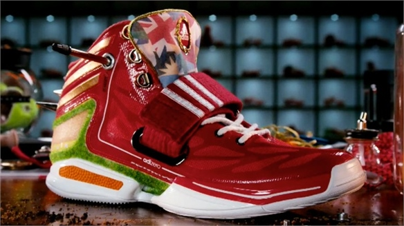 Miadidas: Customised Olympic Footwear Promo