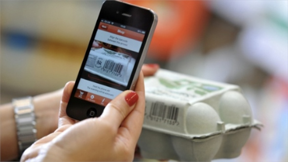 Sainsbury's Trials 'Scan & Go' Mobile App