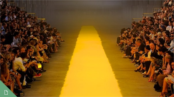 Catwalk Show Spaces – S/S 2012