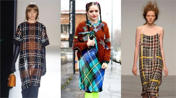 Womenswear A/W 13-14: Luxe Plaid