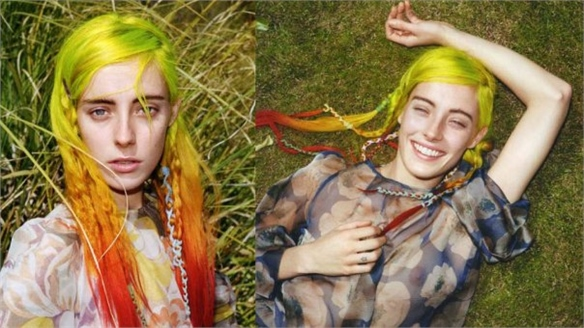 Chloe Norgaard For i-D Magazine