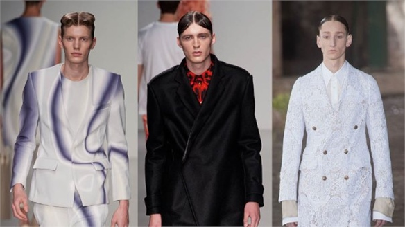 LCM S/S 14: The Centre Parting