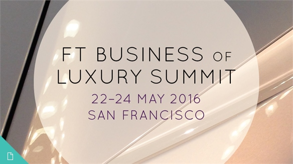 FT Business of Luxury Summit 2016