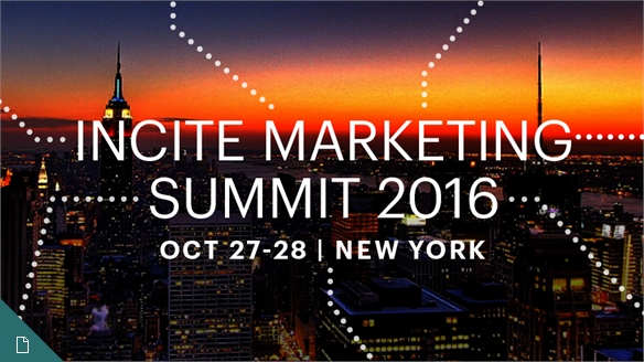 Hyper-Targeted Marketing: Incite Summit 2016