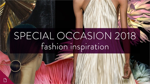 Special Occasion S/S 18 Fashion Inspiration