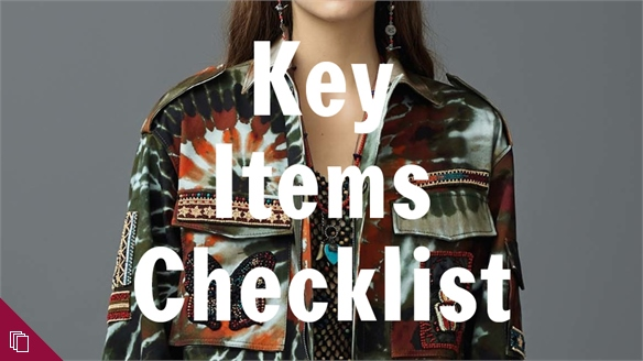 Resort 17: Key Items Checklist