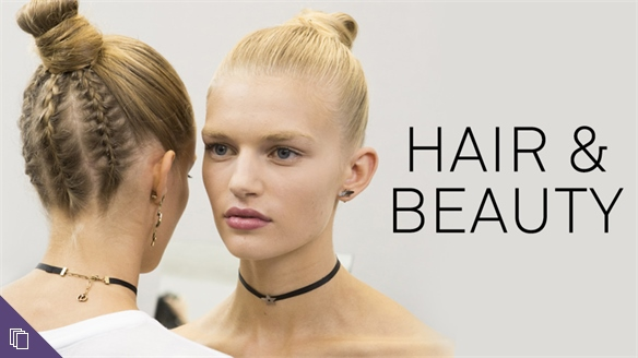 S/S 17 Womenswear: Hair & Beauty