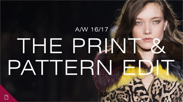 A/W 16/17: The Print & Pattern Edit