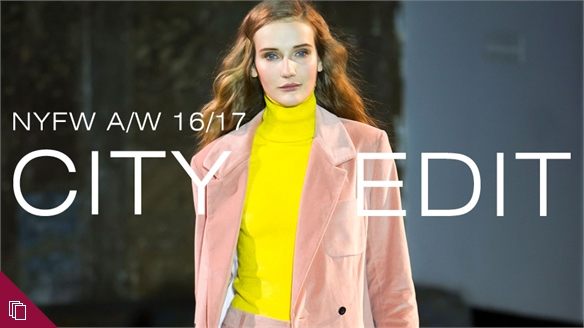 A/W 16/17: New York City Edit
