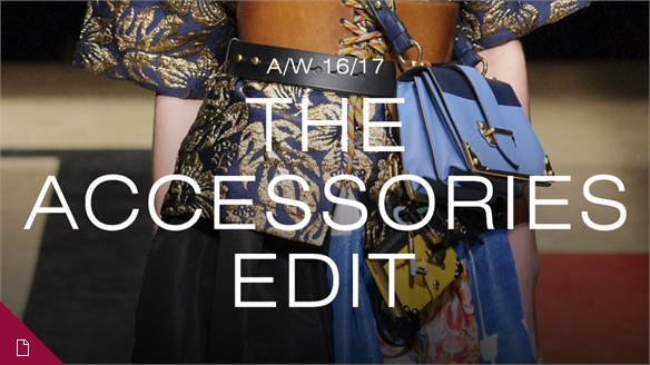 A/W 16/17: The Accessories Edit
