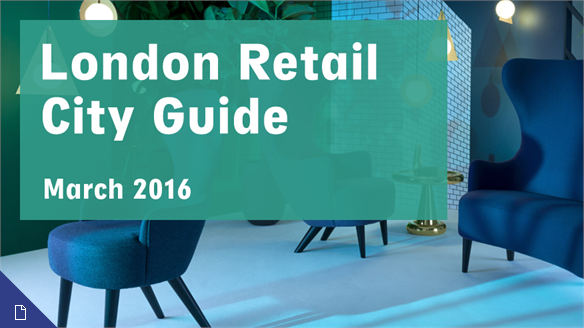 Retail City Guide: London, March 2016