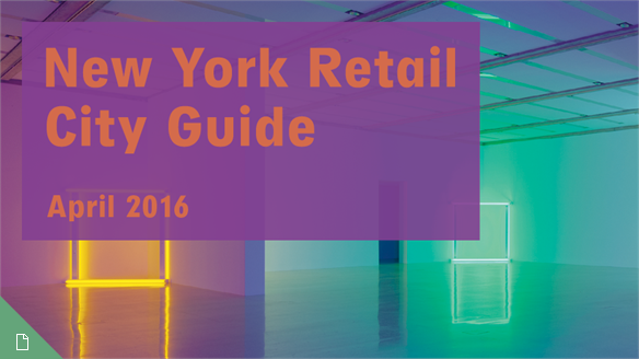 Retail City Guide: NYC, April 2016